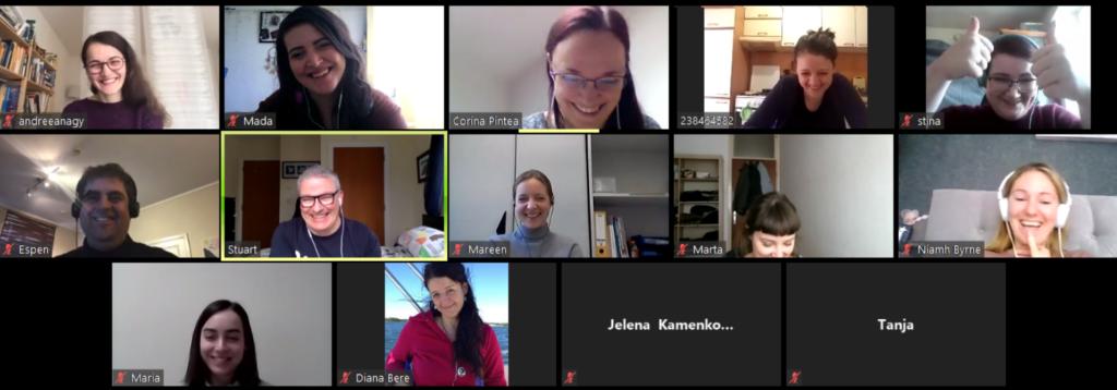 Family Volunteering Team Online Meeting